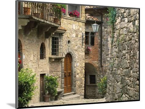 Tuscan Stone Houses-William Manning-Mounted Photographic Print
