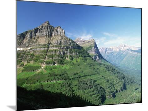 Glaciated Mountain Peaks and Valley-Neil Rabinowitz-Mounted Photographic Print