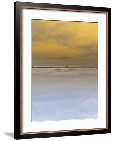 Waves Crashing onto Beach--Framed Art Print
