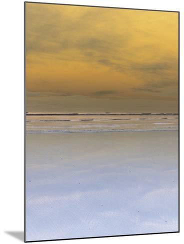 Waves Crashing onto Beach--Mounted Photographic Print
