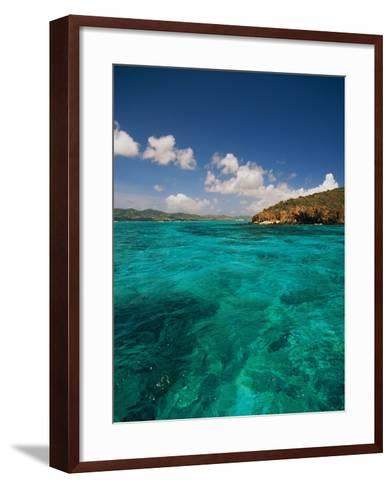Caribbean Sea-Bob Krist-Framed Art Print