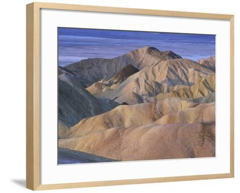 Death Valley Landscape-Bob Rowan-Framed Art Print