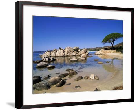 Palombaggia Beach-Christophe Boisvieux-Framed Art Print
