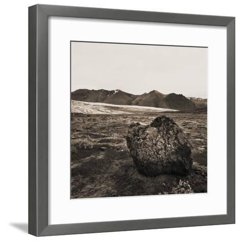 Boulder in Glacial Till--Framed Art Print