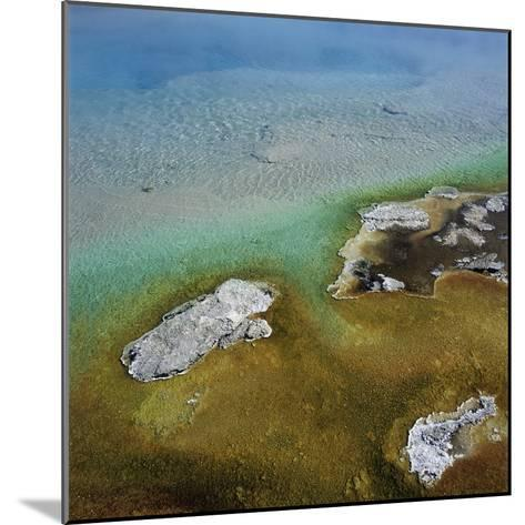 Islands Surrounded by Water Pollution--Mounted Photographic Print