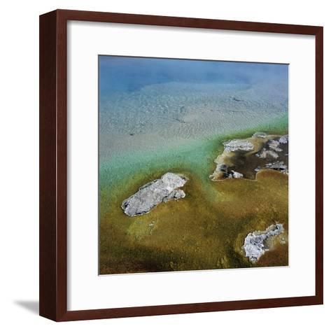 Islands Surrounded by Water Pollution--Framed Art Print