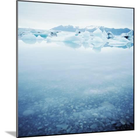Icey Waters--Mounted Photographic Print