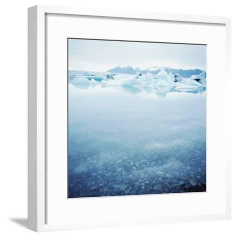 Icey Waters--Framed Art Print