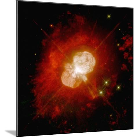 Nebula Around an Unstable Star--Mounted Photographic Print
