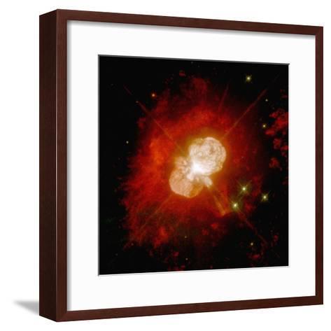 Nebula Around an Unstable Star--Framed Art Print