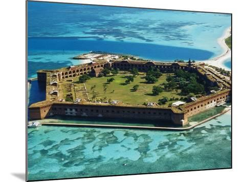 Aerial View of Fort Jefferson-Bob Krist-Mounted Photographic Print
