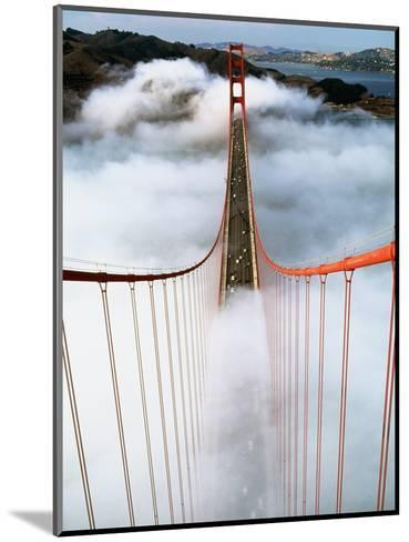 Golden Gate Bridge Wrapped in Fog-Roger Ressmeyer-Mounted Photographic Print