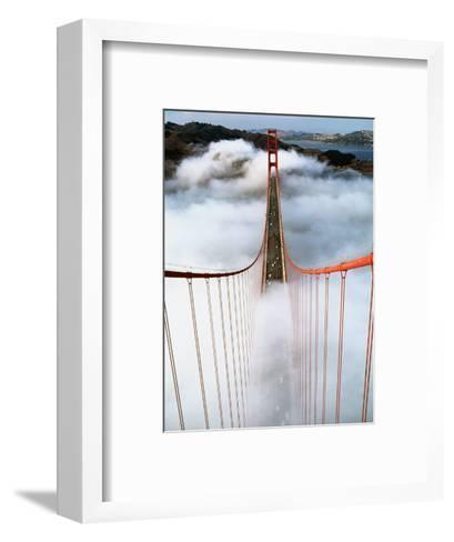 Golden Gate Bridge Wrapped in Fog-Roger Ressmeyer-Framed Art Print