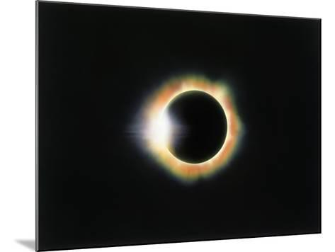 Eclipse with a Diamond Ring Effect-Roger Ressmeyer-Mounted Photographic Print