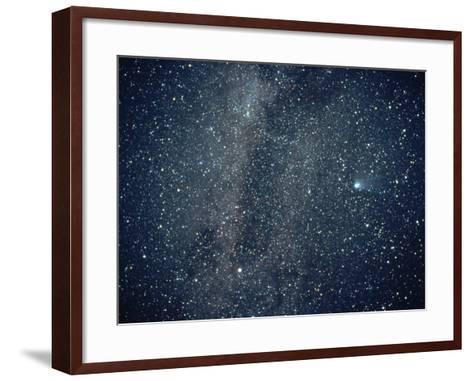 Halley's Comet in the Southern Sky-Roger Ressmeyer-Framed Art Print