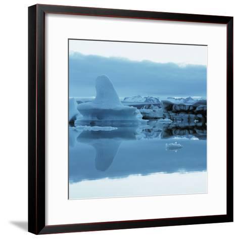 Iceberg Shaped Like a Whale Fin--Framed Art Print