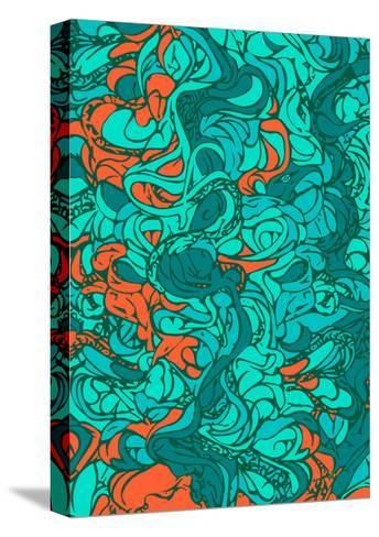 Waves-lordcasco11-Stretched Canvas Print