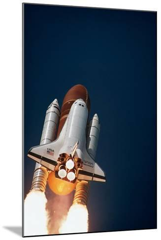 Launch of Space Shuttle Discovery--Mounted Photographic Print