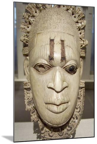 Benin Iyoba Pendant Mask--Mounted Photographic Print