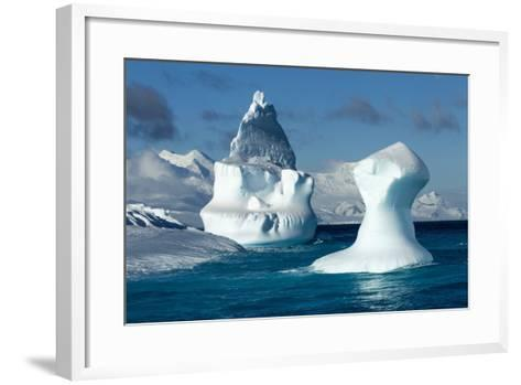 Iceberg, South Shetland Islands, Antarctica-Paul Souders-Framed Art Print