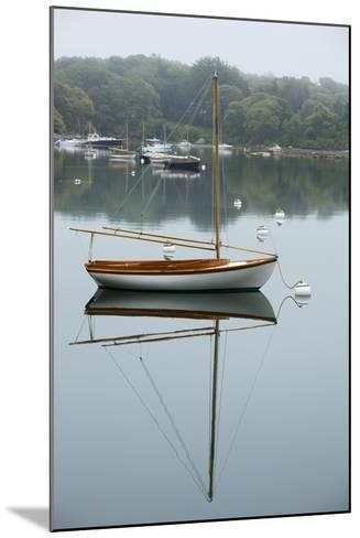 Sailboat, Woods Hole, Massachusetts-Paul Souders-Mounted Photographic Print