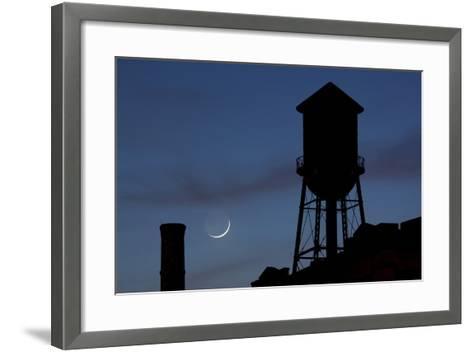 Water Towers, Jersey City, New Jersey-Paul Souders-Framed Art Print