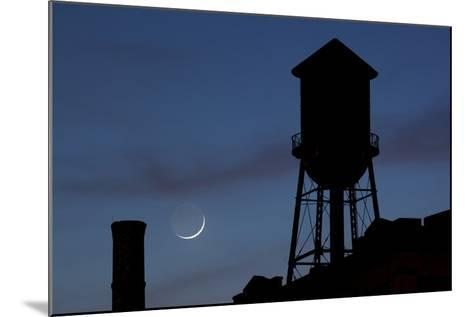 Water Towers, Jersey City, New Jersey-Paul Souders-Mounted Photographic Print