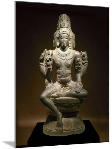 Sculpture of Shiva--Mounted Photographic Print