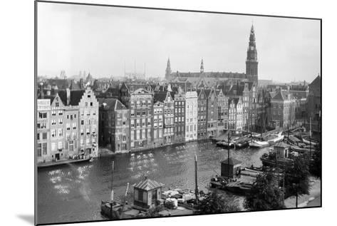 Tourist Photo in the Netherlands, Ca. 1910--Mounted Photographic Print