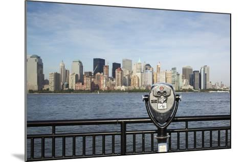 Manhattan Skyline from New Jersey-Paul Souders-Mounted Photographic Print