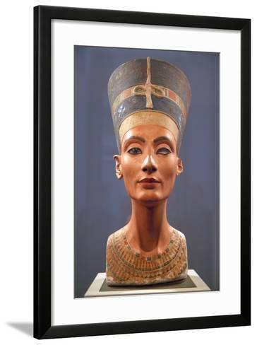 Bust of Nefertiti--Framed Art Print