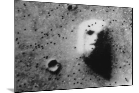 "The ""Face"" on Mars-Roger Ressmeyer-Mounted Photographic Print"