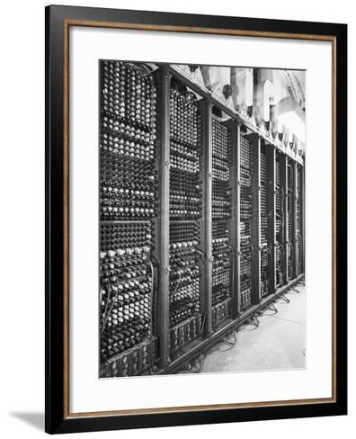Vacuum Tubes of Eniac--Framed Art Print