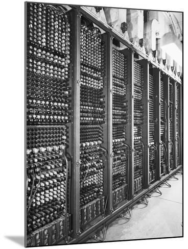 Vacuum Tubes of Eniac--Mounted Photographic Print