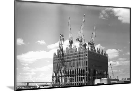 World Trade Center under Construction-Philip Gendreau-Mounted Photographic Print