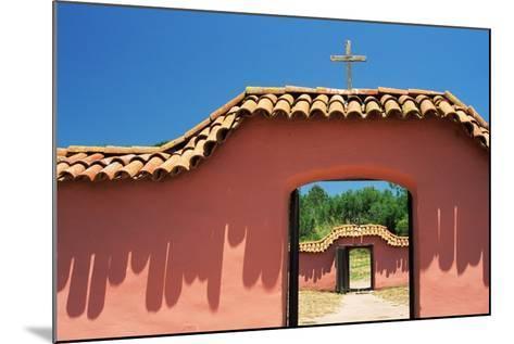 Gates at Mission La Purisima-Richard Cummins-Mounted Photographic Print