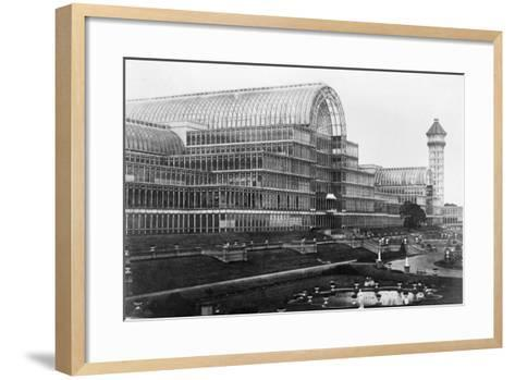Crystal Palace in London--Framed Art Print