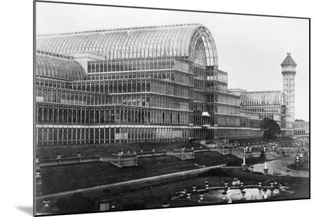 Crystal Palace in London--Mounted Photographic Print