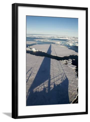 Expedition Yacht, Svalbard, Norway-Paul Souders-Framed Art Print