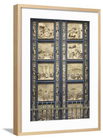 The Gates of Paradise-Lorenzo Ghiberti-Framed Art Print