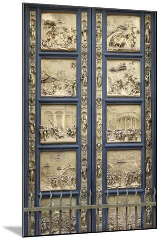 The Gates of Paradise-Lorenzo Ghiberti-Mounted Photographic Print