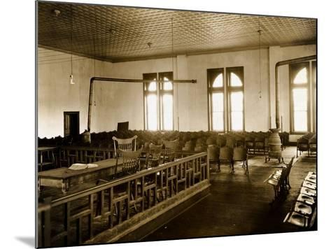 Courtroom Interior--Mounted Photographic Print
