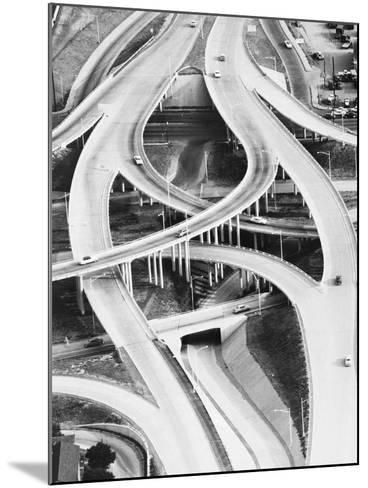 Four-Level Interchange at Turnpike-Philip Gendreau-Mounted Photographic Print