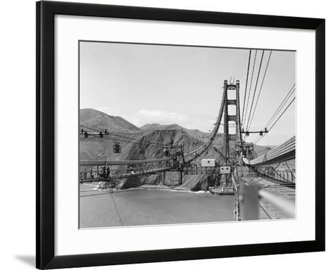 The Golden Gate Bridge--Framed Art Print