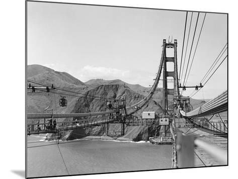 The Golden Gate Bridge--Mounted Photographic Print