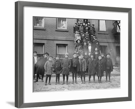 Jewish Students--Framed Art Print