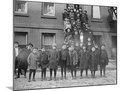 Jewish Students--Mounted Photographic Print