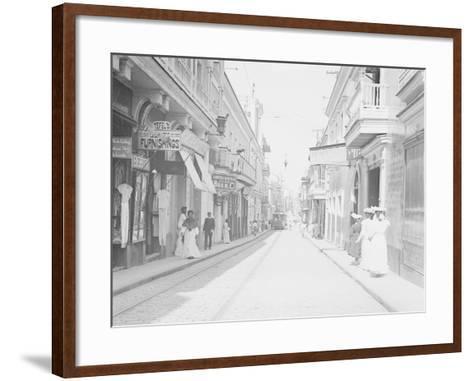 San Francisco Street--Framed Art Print