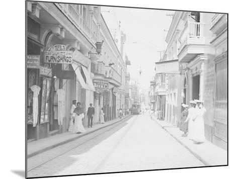 San Francisco Street--Mounted Photographic Print