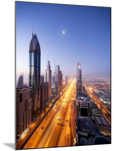 City Skyline, Dubai, UAE--Mounted Photographic Print